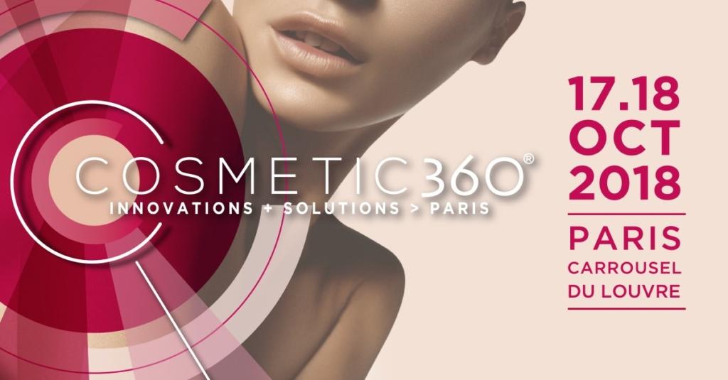 Cosmetic 360 17 et 18 octobre 2018