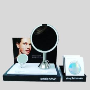 simplehuman sensor mirror compact display concept